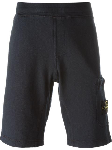 STONE ISLAND patch pocket shorts. #stoneisland #cloth #shorts