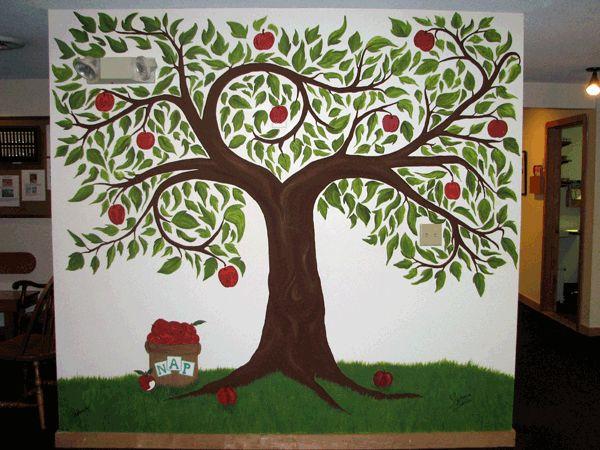 apple tree painting