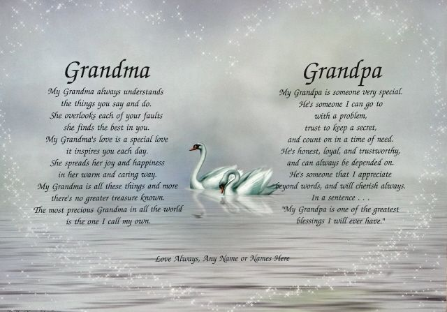 Grandparent Poems Http Www P Ridley Com Parenting