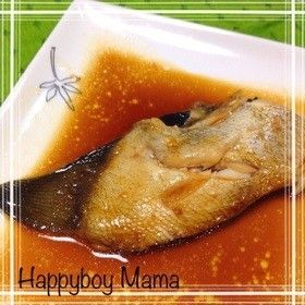 フライパンで簡単10分!かれいの煮付け♡ by ハッピーボーイママ ...