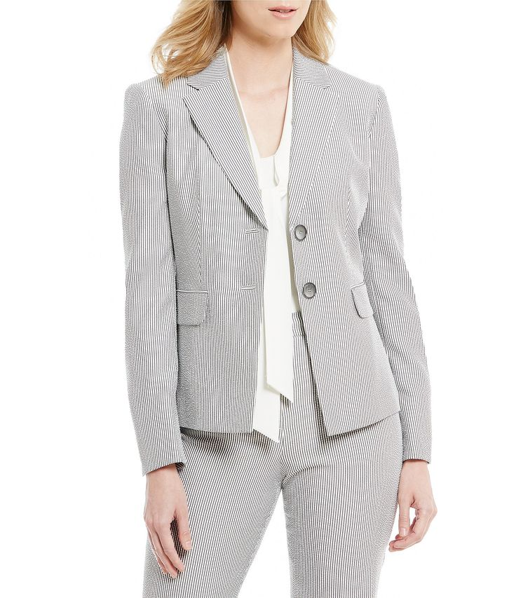 Shop for Kasper Petite Pinstripe Seersucker Jacket at Dillards.com. Visit Dillards.com to find clothing, accessories, shoes, cosmetics & more. The Style of Your Life.