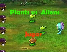 Plants vs Aliens   Juegos Plants vs Zombies - Plantas contra zombies