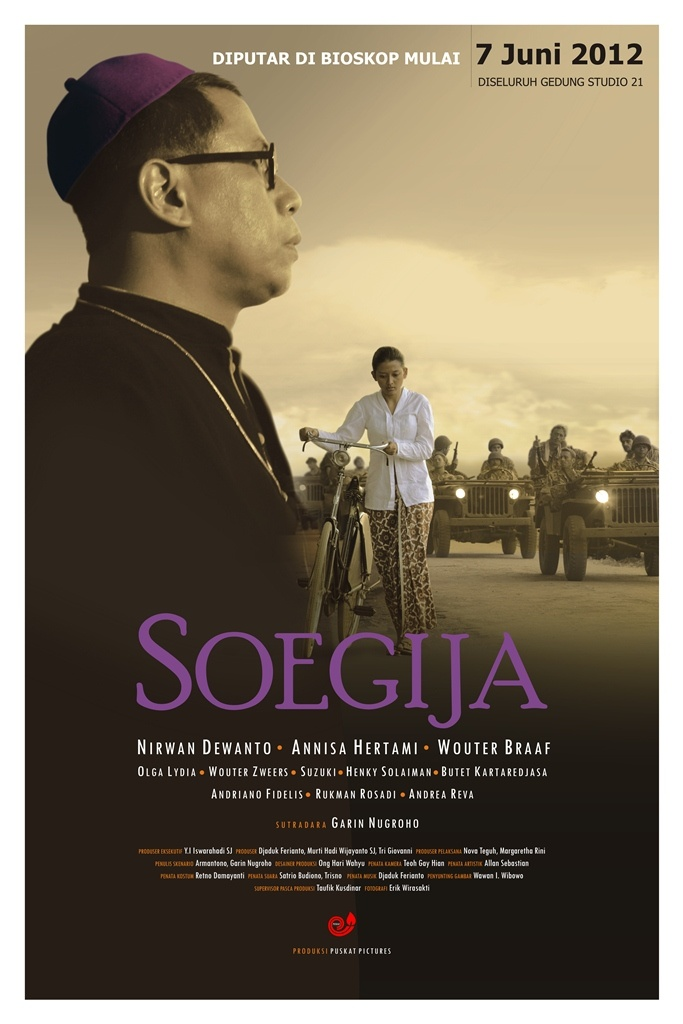Soegija. An Indonesian film directed by Garin Nugroho.