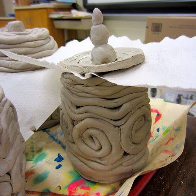 148 Best Images About Ceramics Coil Method On Pinterest