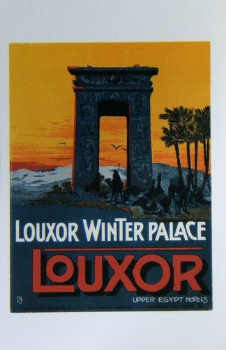 Hotel Winter Palace Louxor