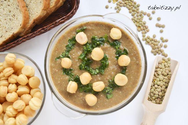 Zupa krem z zielonej soczewicy Take it Izzy