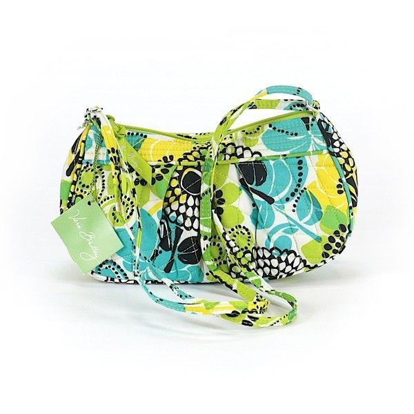 Vera Bradley Shoulder Bag (58 AUD) ❤ liked on Polyvore featuring bags, handbags, shoulder bags, green, vera bradley handbags, handbag purse, vera bradley, shoulder bag purse and green shoulder bag