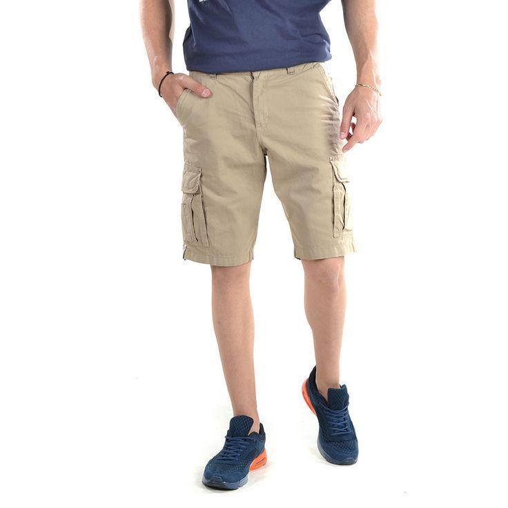 Camaro Short Pants-16001-742-18-BEIGE - http://men.bybrand.gr/camaro-short-pants-16001-742-18-beige/