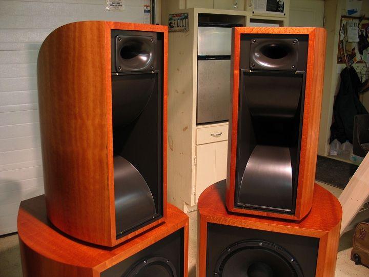 Flared Horn Midrange Cabinets