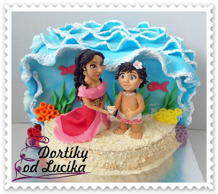 Dorty pro děti 5. :: Dortíky od Lucíka
