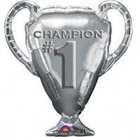 Shape Trophy Champion # 1 Silver $15.95 U27341