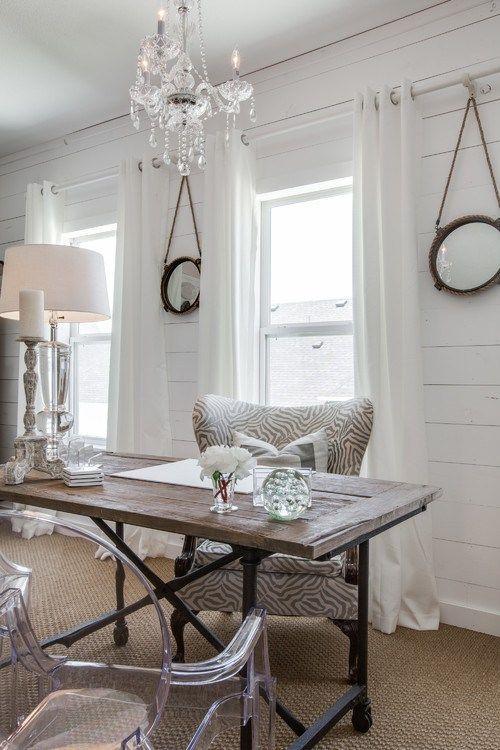 18 Inspirational Office Spaces - http://OnlineFabricStore.net Blog