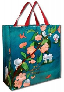 Spring Night Tote Bags