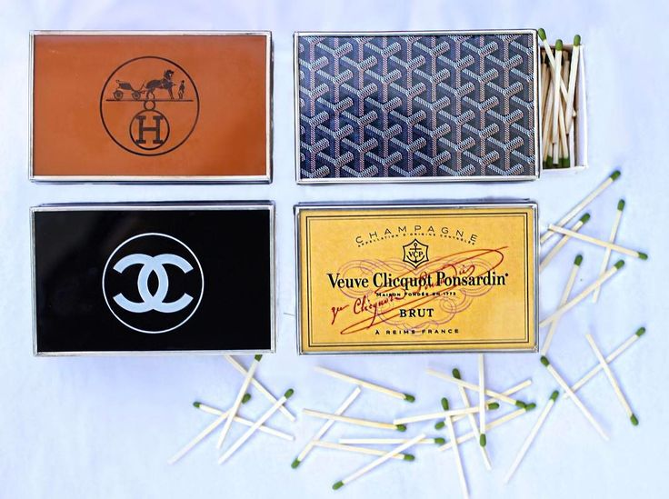 These stylish matchbox covers have us absolutely obsessed!! Shop these clever little treasures online and in- store !! #tfssi #twofriendsssi #seaisland #goldenisles #shoplocal #shopgoldenisles #shopsmall #matchboxcover #matchbox #chanel #veuvecliquotchampagne #veuve #goyard #hermes #style #fashion #chic #treschic #stylish #design #pursuepretty #prettycreativestyle #decorate #prettylittlethings #thehappynow #theeverygirl #clever #cute #love #obsessed