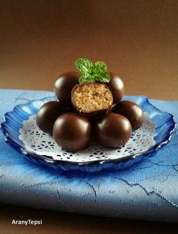 Zserbógolyó sütés nélkül Recept képpel - Mindmegette.hu - Receptek