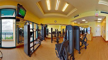 Stay fit at the gym at the Hilton Barbados Resort, minutes from Needhams Point and George Washington House. This 4-star resort is within close proximity of Garrison Savannah and Barbados Museum and Historical Society. #barbados #resort #hilton #holiday #vacation #gym #hotel   Get a beach tour along with your room too!