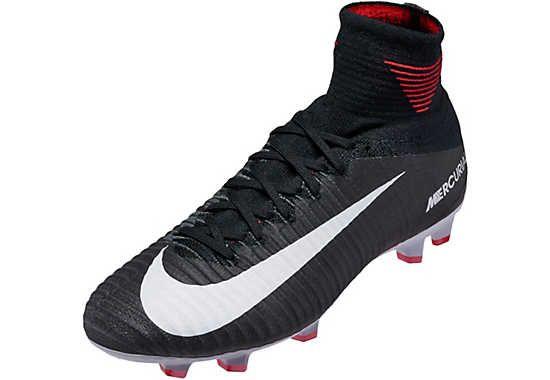 be8813eb8588 Nike Kids Mercurial Superfly V FG – Black/White | Soccer | Superfly ...
