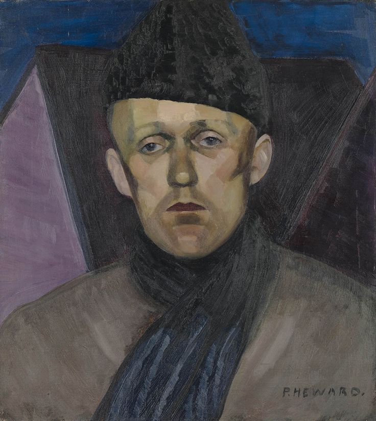 "In 1914 Heward's brothers, Jim and Chilion, went to Europe to fight in the First World War. ""Jim,"" 1928, Musée National des Beaux-Arts du Québec."