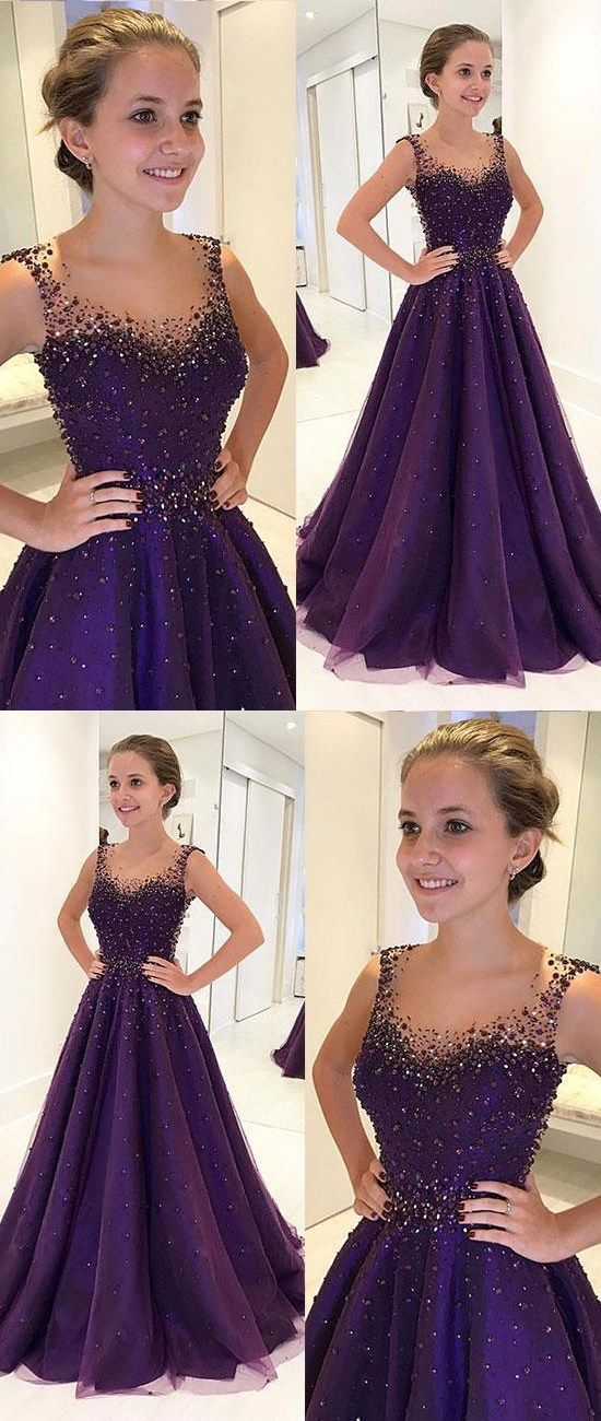 15adc8fee21 such an elegant dress. such an elegant dress Dark Purple Prom Dresses