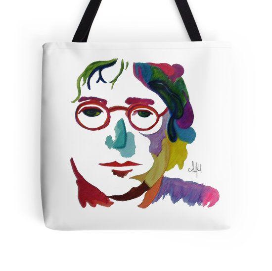 Handmade watercolor  John Lennon