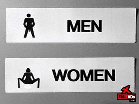 Bathroom Signs Restaurant 56 best bathroom signs images on pinterest   bathroom signs
