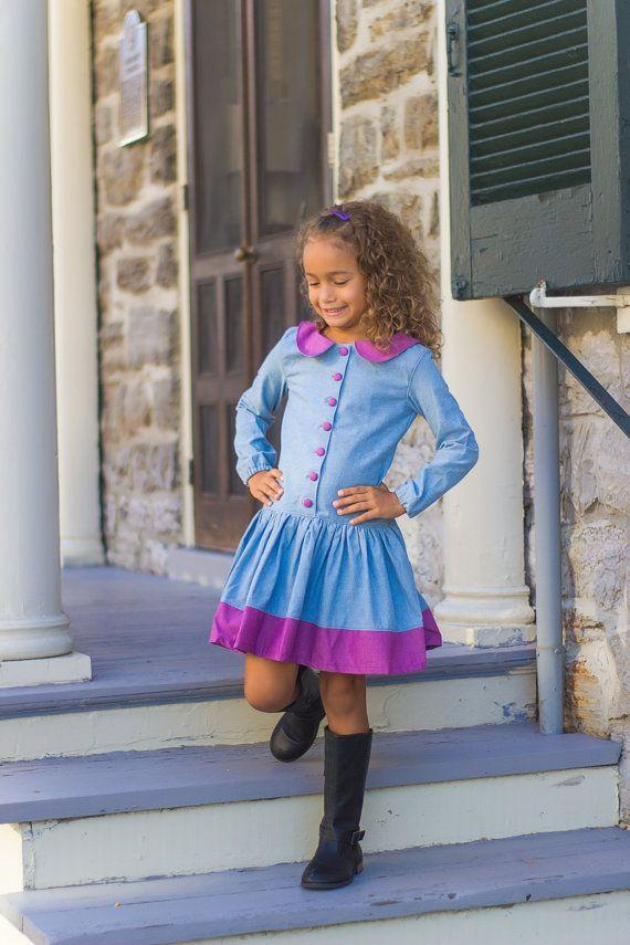 Cute dress for a little girl!