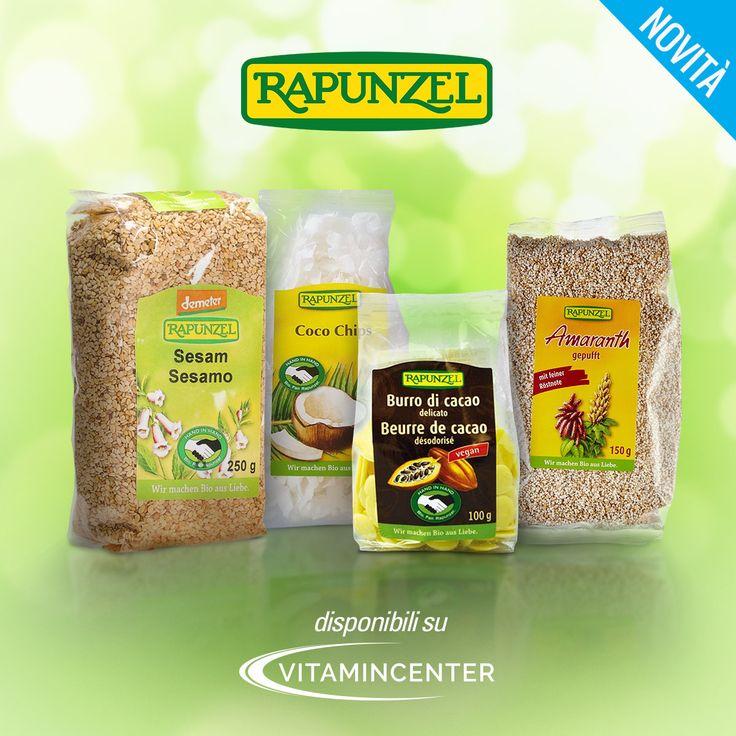 #Rapunzel produce alimenti biologici con materie prime di grande qualità. Scopri tutti i nuovi prodotti su #VitaminCenter > www.vitamincenter.it/brands/rapunzel