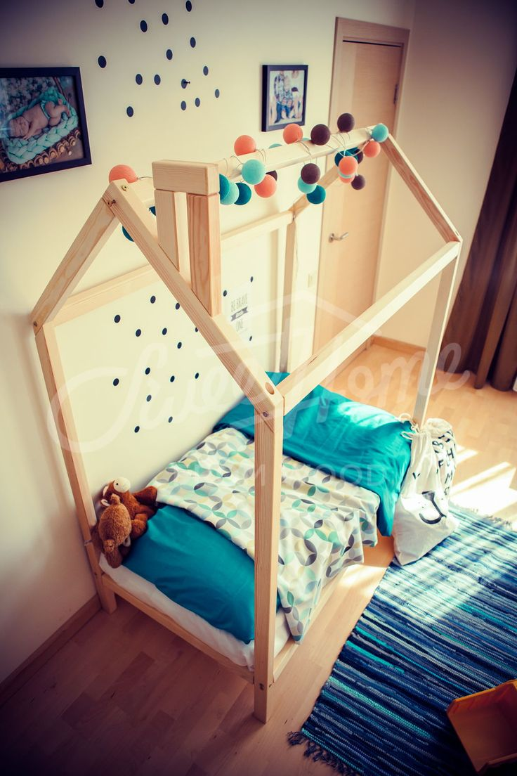 Children bed Baby bed Wood bed frame bed Twin size