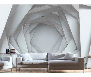Papier peint moderne Geometrical Abyss