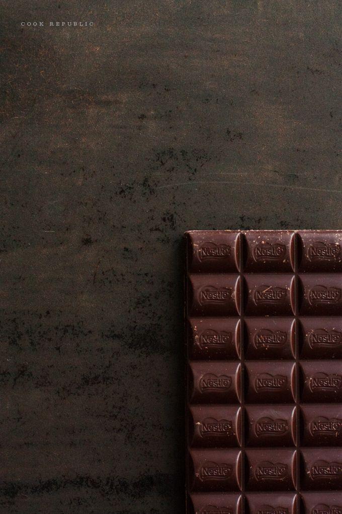 Dark Couverture Chocolate & Fudge Frosting - Cook Republic