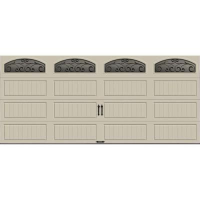 Clopay gallery collection 16 ft x 7 ft 6 5 r value for Buy clopay garage doors online