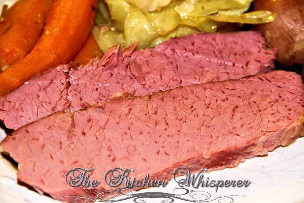 Guinness Crock pot Corned Beef & Cabbage, St. Paddy's Day Foods, Guinness Crock Pot Corned Beef & Cabbage with a Guinness Reduction Sauce