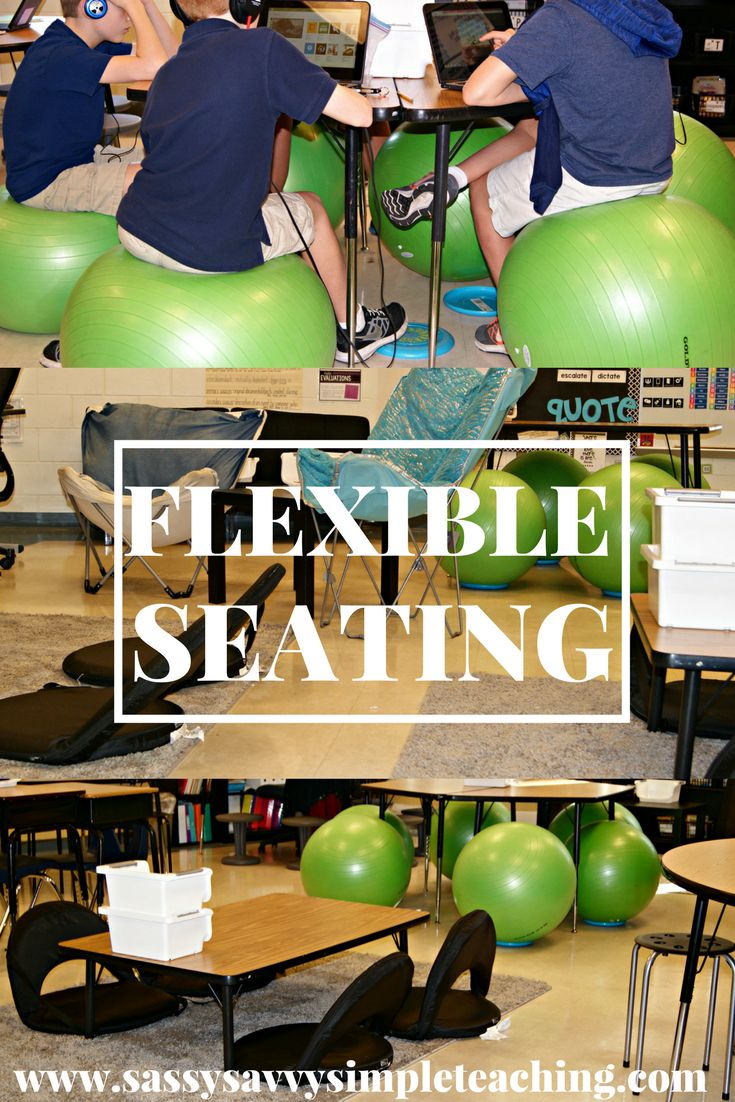 Ready to implement a Flexible Seating Classroom? Tips, ideas and more to transition to a Flexible Seating classroom on the blog!