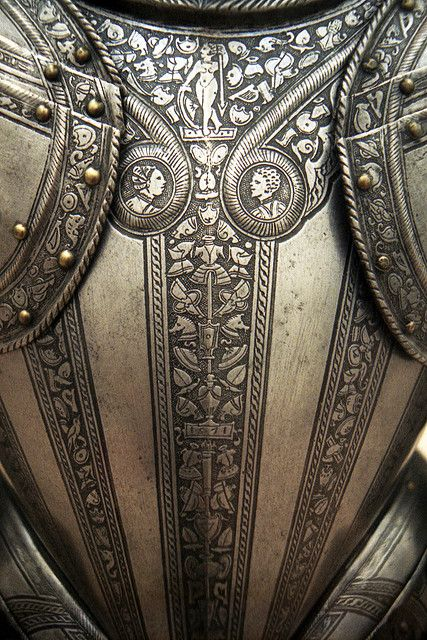 Italian armour for the field and tilt, backplate by THoog, via Flickr