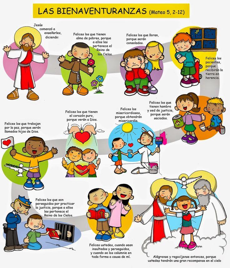 SGBlogosfera. Amigos de Jesús: BIENAVENTURANZAS: CONOCEMOS Y COLOREAMOS