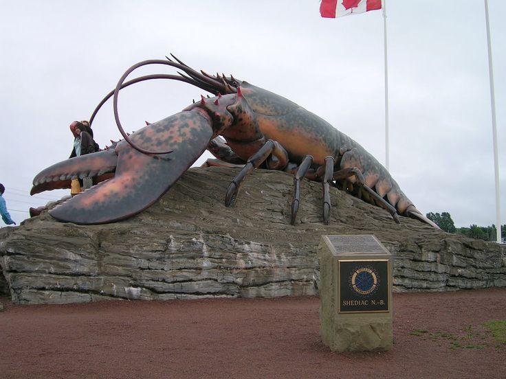 Lobster statue, New Brunswick