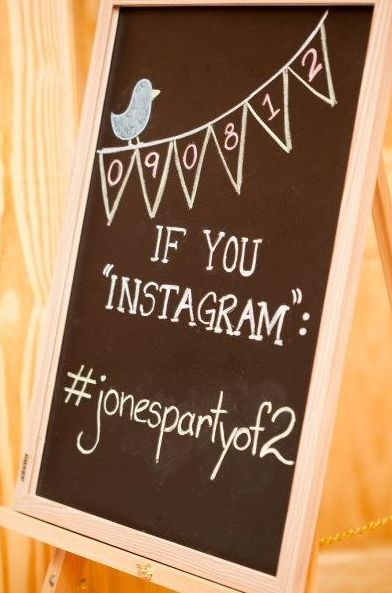 This is fun! Check out the different pics your friends take throughout the night! #instagram your wedding day ...such a good idea!