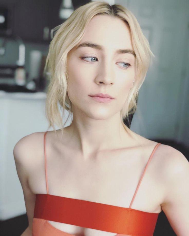"saoirseronandaily: ""Saoirse Ronan getting ready for the Academy Awards Nominees Luncheon on Feb. 5 """
