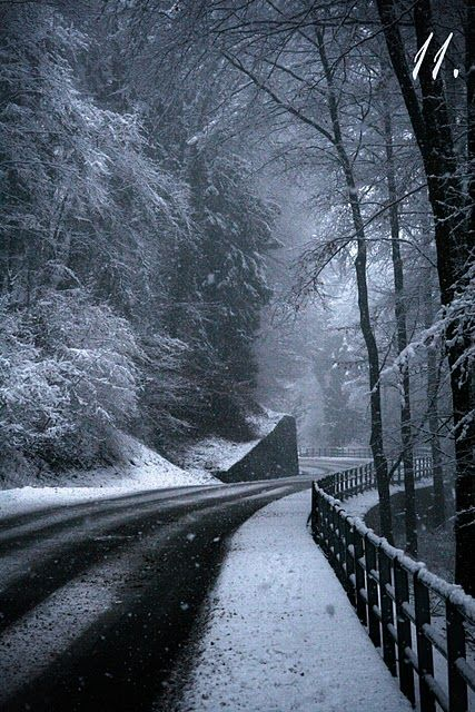 icy road: Snowy Roads, Favorite Places, Icy Roads, Winter Wonderland, Snowy Scene, Winter Holidays, Advent Pictures, Advent Photo, Snowy Pics