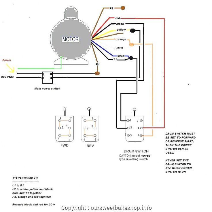 Century Motor Wiring Diagram, Century 5hp Electric Motor Wiring Diagram