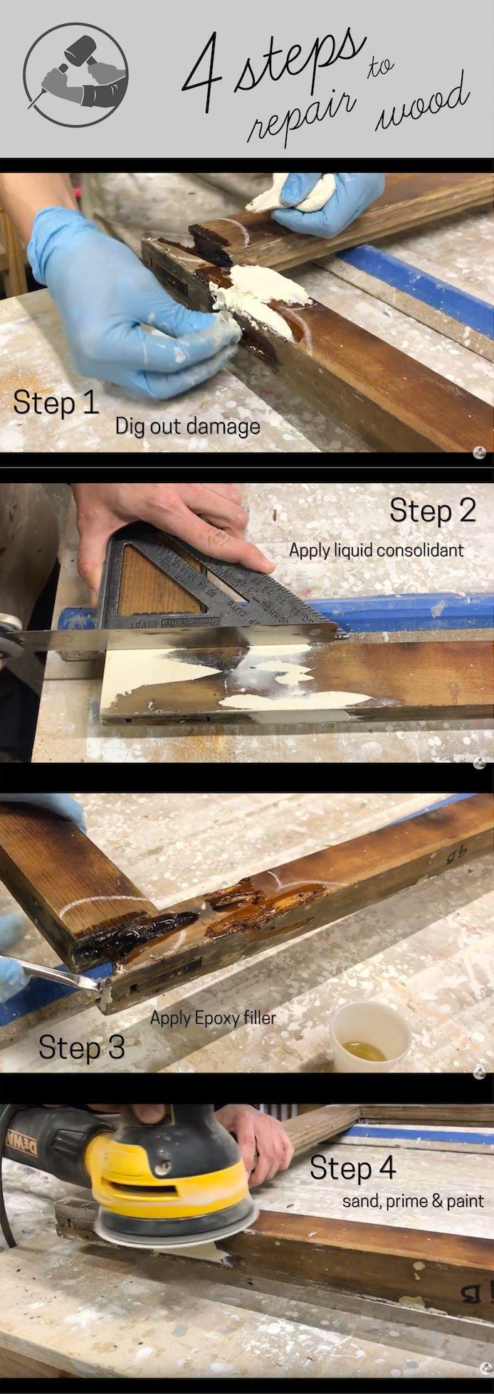 Best Wood Restoration In 4 Easy Steps Wood Repair Restore 640 x 480