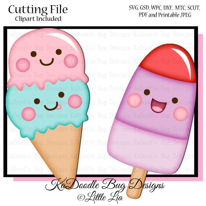 Kawaii Ice Cream Fiesta De Helados Paletas De Helado Dibujos