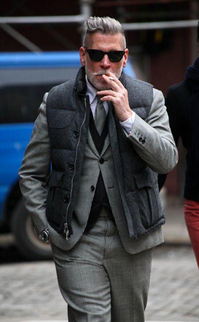 #NickWooster el abuelo más #fashion del mundo.
