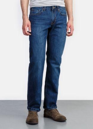 Классические джинсы прямого силуэта за 1999р.- от OSTIN
