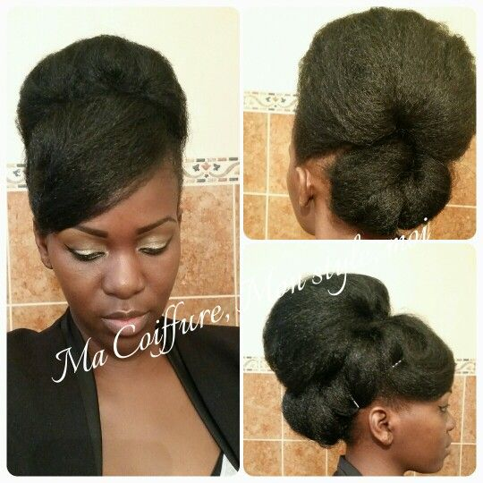 Fabuleux 19 best Coiffure cheveux crépus/ Nappy hairstyle images on  OH33
