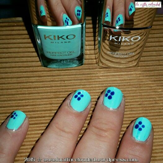 Kiko Perfect Gel Duo col. 677 Milk Mint