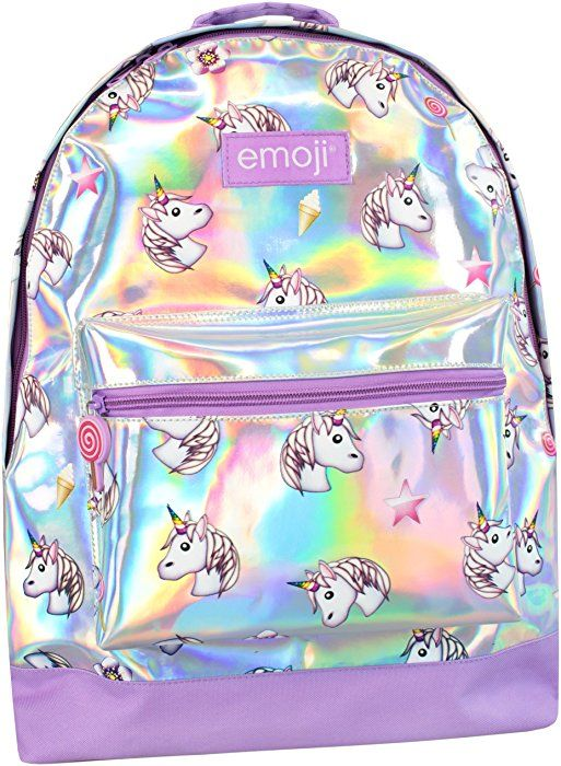 5b958a748cea Amazon.com  Emoji Girls Emoji Unicorn Backpack  Clothing