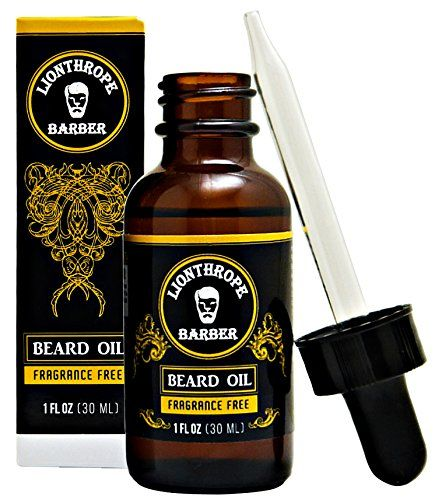 Lionthrope Beard Oil Conditioner Organic Softener 1 oz Best Grooming Kit with 100 Natural Unscented Ingredients Contained Jojoba Oil Vitamins Beard growth for men -- You can get additional details at the image link.