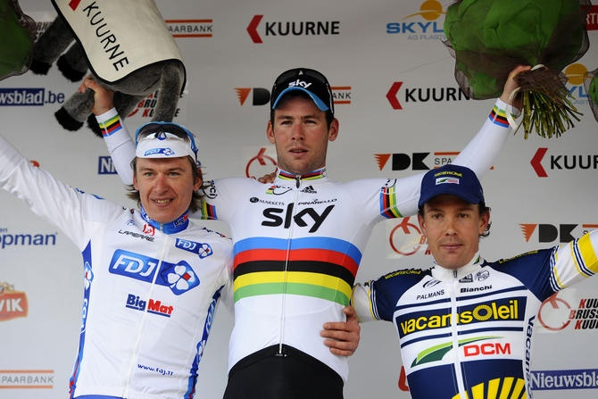Cav winning Kuure Brussels Kuurne