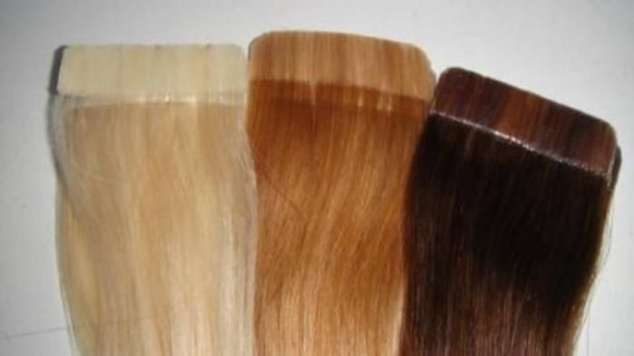 Sticker hair extensions - Human Hair Weave For Sale Hair Extensions 100 Human